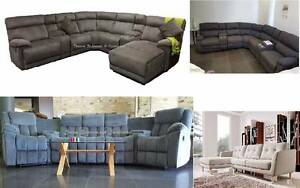 SPECIAL new FABRIC CORNER (RECLINER) LOUNGES certegy ezipay Bundall Gold Coast City Preview