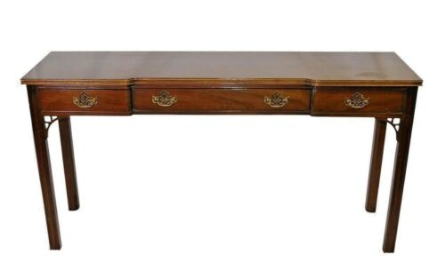American Masterpiece Collection Mahogany Chippendale Style Console Table