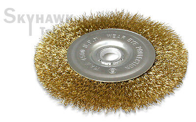 """New   4-1/2"""" X 5/8"""" Arbor  Wire Wheel Brush for Angle Grinder"""