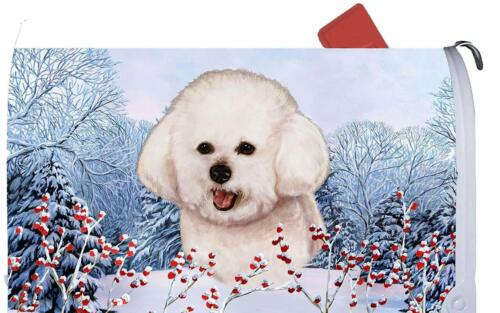 Bichon Frise Decorative Mail Box Cover