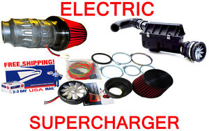 BMW-Electric-Turbo-Performance-Air-Fan-Intake-Supercharger-Kit-FREE-USA-SHIP