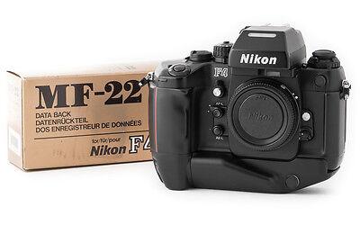 【MINT+ No.261xxxx】 Nikon F4S Final Late Model Film Camera W/MF-22 From Japan