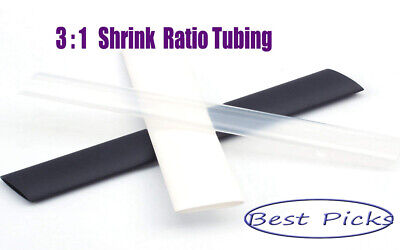 31 Heat Shrink Tubing Adhesive Lined Marine Tuner Motec Aem Black.red.clear