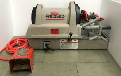 Ridgid 1822-i Pipe Thread Machinepipe Threader 120v -free Shipping-