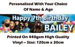 Aussie Birthday Banners
