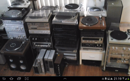 VARIETY of STEREO Hi-Fi components & RECORD PLAYERS for SALE