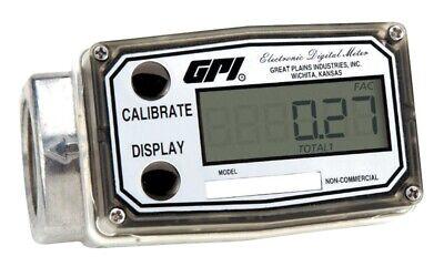 Gpi 03a31gm 1 3-50gpm Battery-powered Digital Meter - Methanol