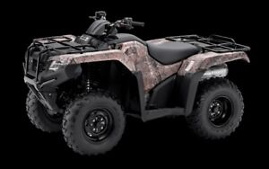 2018 Honda TRX420FA6 CALL US FOR THIS MONTHS SPECIAL OFFER!