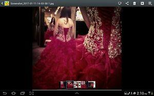 Red Graduation Dress