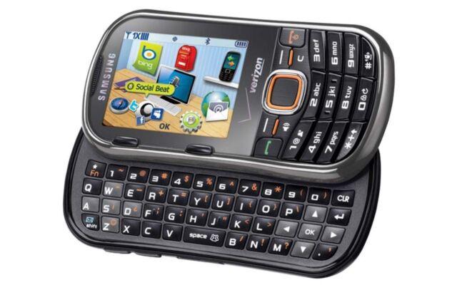 Samsung SCH U460 Intensity II - Gray (Verizon) Cellular Phone
