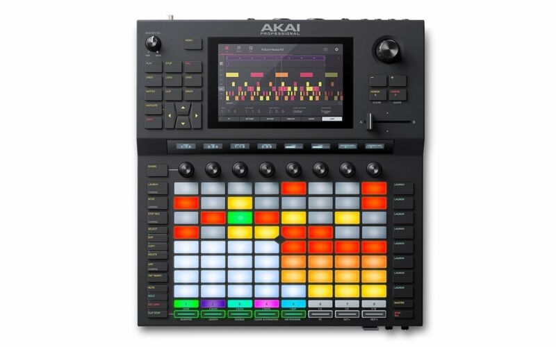 Akai Force Standalone Music Production & DJ Performance System - FORCEXUS