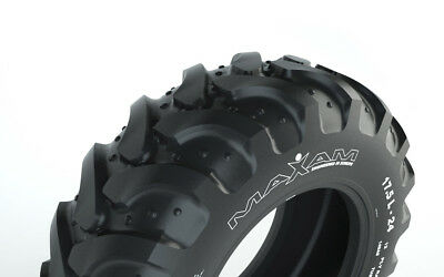 2 Tires Maxam 17.5l-24 R4 12 Ply Ms904 Backhoe Tire 17.5l-24