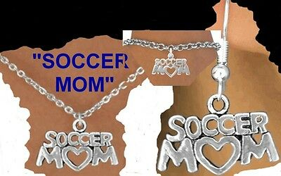 SOCCER MOM Mother School Net Ball Goal Kick Team Women College Cap Sport Jewelry