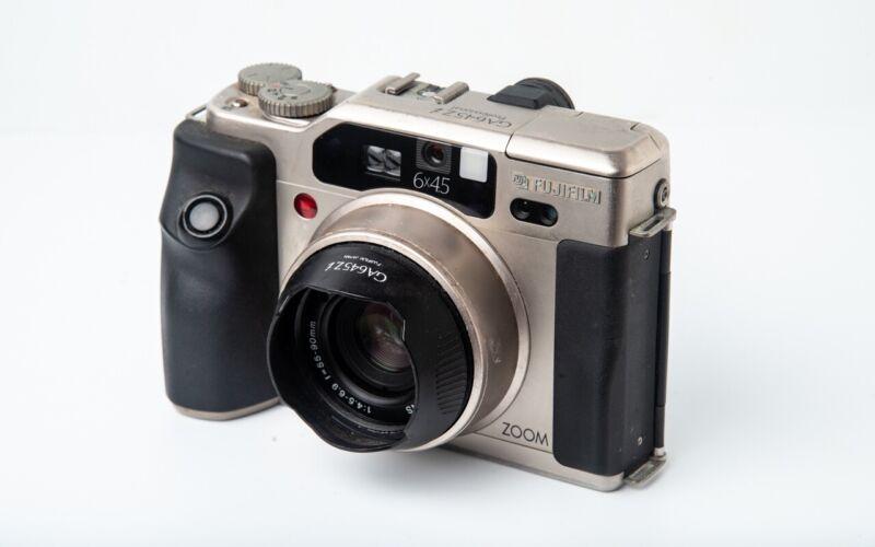Fujifilm GA645Zi Pro Medium Format Camera - Metallic