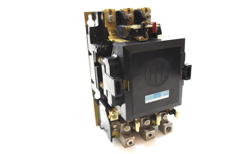 ITE A203F Coil Size 4 Contactor Motor Starter 1/pkg 150A 3P NEMA4 3Ph 110/120...
