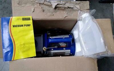 Rotary Vane Vacuum Pump With Gauge 5 Cfm 2 Stage 12hp