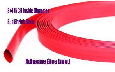 5feet.red 34id Polyolefin 31 Heat Shrink Tubing Electrical Connection Wrap
