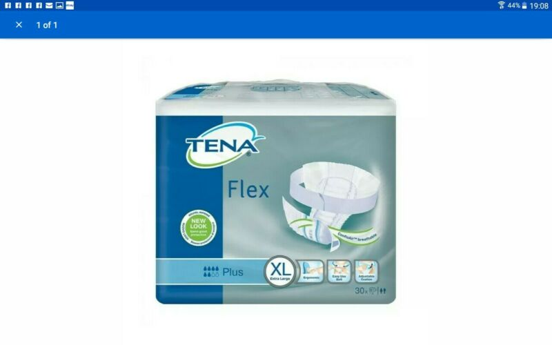 Tena+Flex+Plus+Pads+XL++-+30+pads