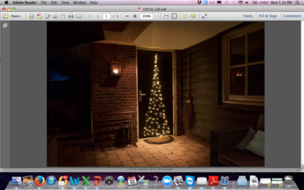 120 LED Christmas Tree for your Door,  NEW,  Great Festive Idea