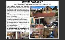 Room for rent chose between Master$210, Double$170 or SIngle$140 Como South Perth Area Preview