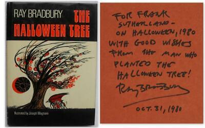 The Halloween Tree - Ray Bradbury - Inscribed 1st edition](The Halloween Tree 1st Edition)