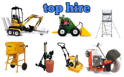 Dingo Hire $149. Excavator hire $199. Core drill hire $99