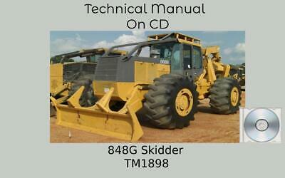 John Deere 848g Skidder Technical Manual Tm1898