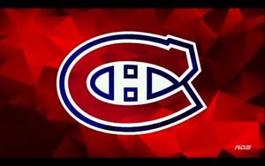 Billets Canadiens section rouge
