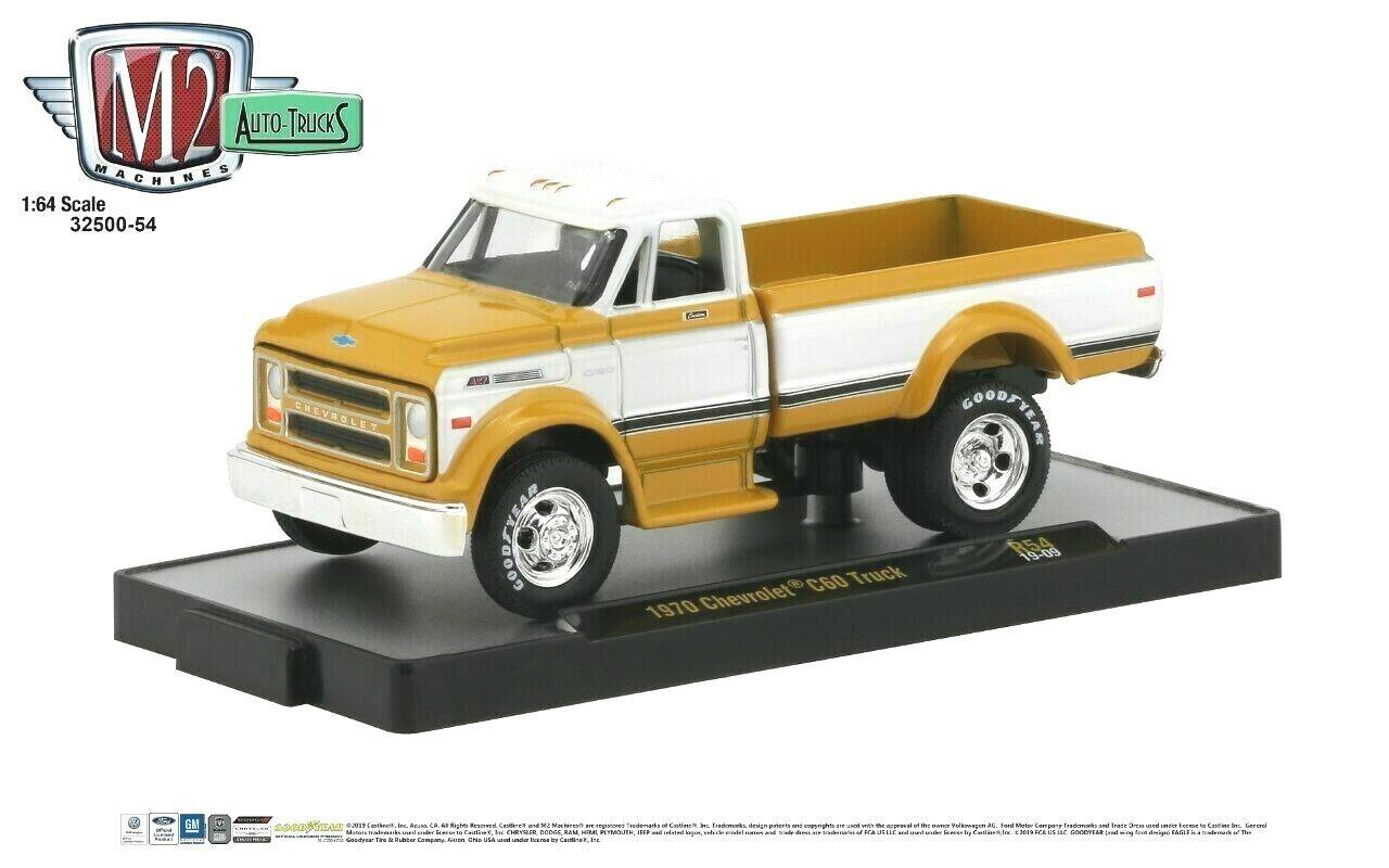 M2 Machines Auto Trucks 1970 Chevrolet C60 Truck Release 54- 1:64