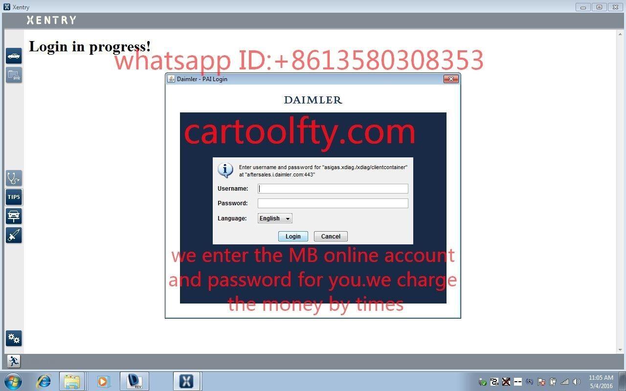 mercedes benz online account for do online scn coding