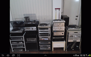 Stereo Hi-Fi s from the 70s -1980s FOR SALE Everton Park Brisbane North West Preview