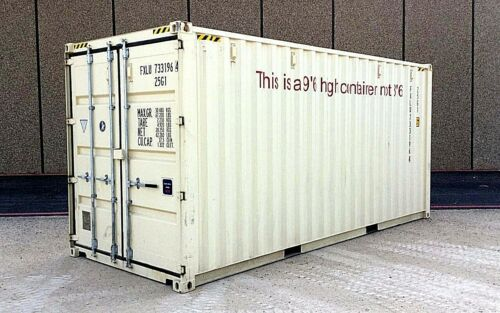 20 Foot NEW  High Cube  Shipping Container, Cargo Container, Conex Box, Sea Box