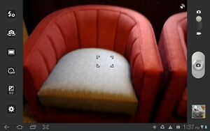 2large red tub chairs. Windsor Region Ontario image 4