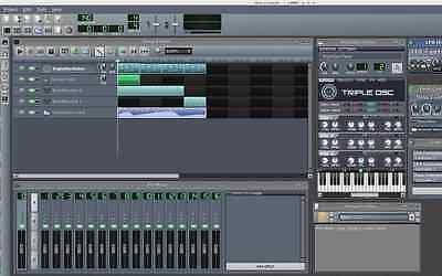 LMMS 2020 (Music Production Multi-Track Editing Mixing Recording) Windows/Mac CD