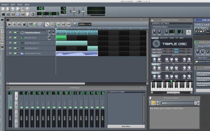 LMMS 2020 (Music Production Multi-Track Editing Mixing Recording) Windows/Mac CD