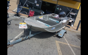 BLUE FIN 3.25 DINGHY WITH TRAILER
