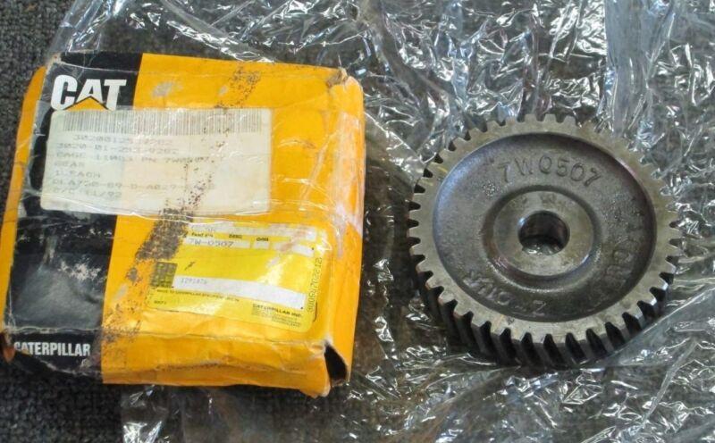 7W-0507, 7W0507 Caterpillar CAT Oil Pump Drive Gear NSN: 3020-01-253-9282 NEW