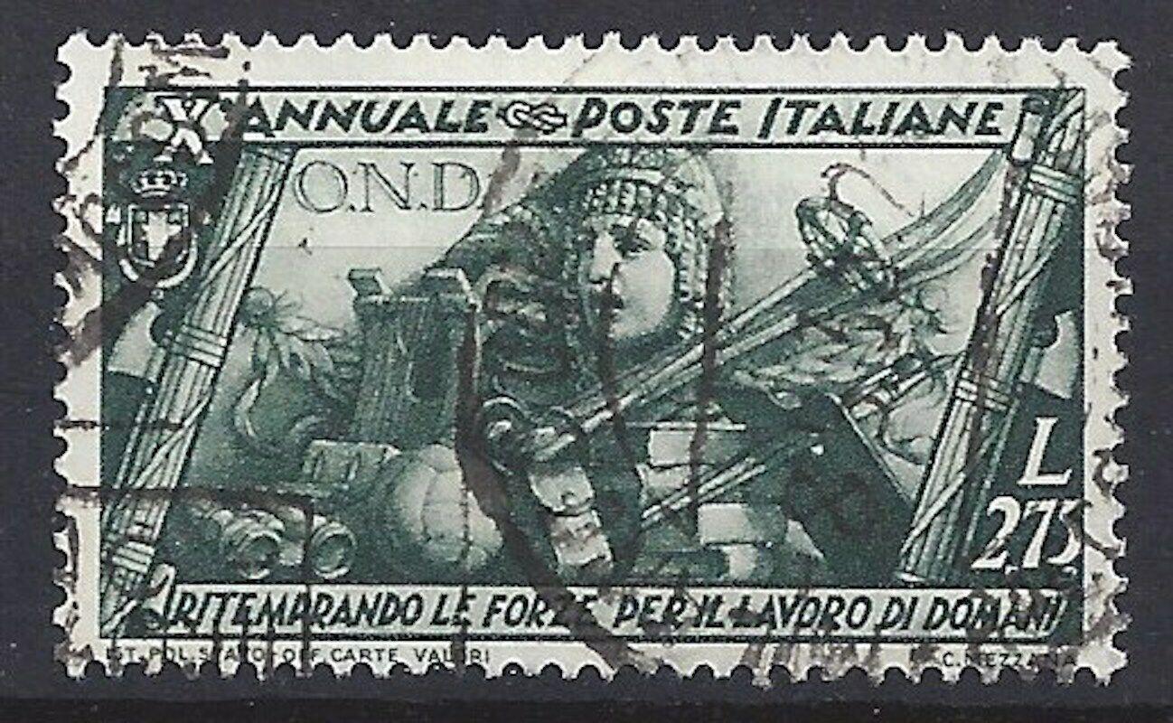 447)) Italien freie Auswahl aus mehrerer Werte oder Sätze gestempelt 9)) Mi 429° Marsch auf Rom