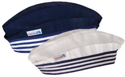Schiffchen - Matrosen-Mütze für Kinder und Erwachsene - Seemanns-Hut - Blaue Mütze Kostüm