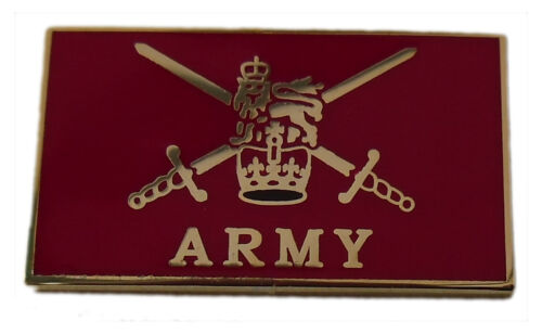 British Army Crest pin badge - lapel badge