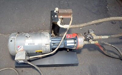 Wanner D10 5hp Hydra Cell Pump And Baldor Electric Motor Inv.35542