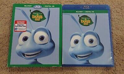 Disney Pixar A Bug's Life (Blu-ray, 1-Disc Set) W/ Slipcover, No Digital