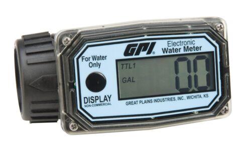 "GPI 01N31GM 1"" Nylon Water Meter"