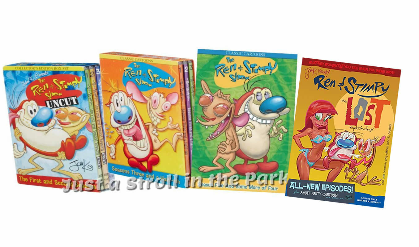 ren stimpy show complete series season 1 5 and lost episodes dvd