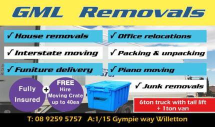 ***GML REMOVALS****