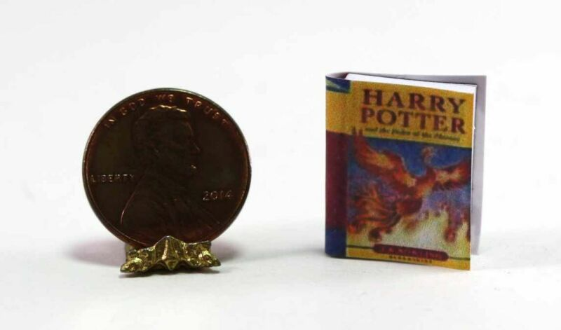 Dollhouse Miniature Harry Potter Book
