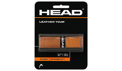 NEW Head Leather Tour Replacement Grip Tennis Baseball Racquetball Replacement Grip Head