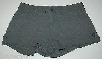 Rise Cuffed Short - JR Womens Short Shorts LOW RISE Gray 7 CUFFED
