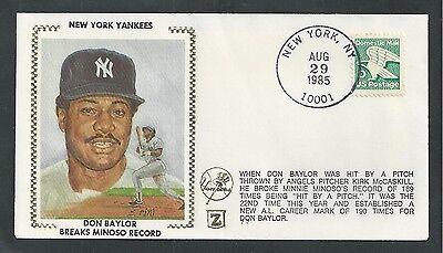 1985 NY YANKEES, DON BAYLOR,  BASEBALL, SPORTS