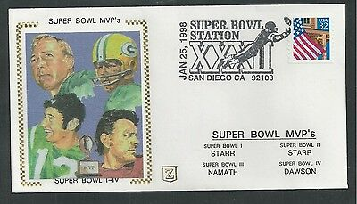 1998 SUPER BOWL XXXII, MVP'S FOOTBALL SPORTS